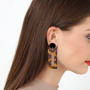 Jewelry - NEW Tiger's Eye Pattern Earrings